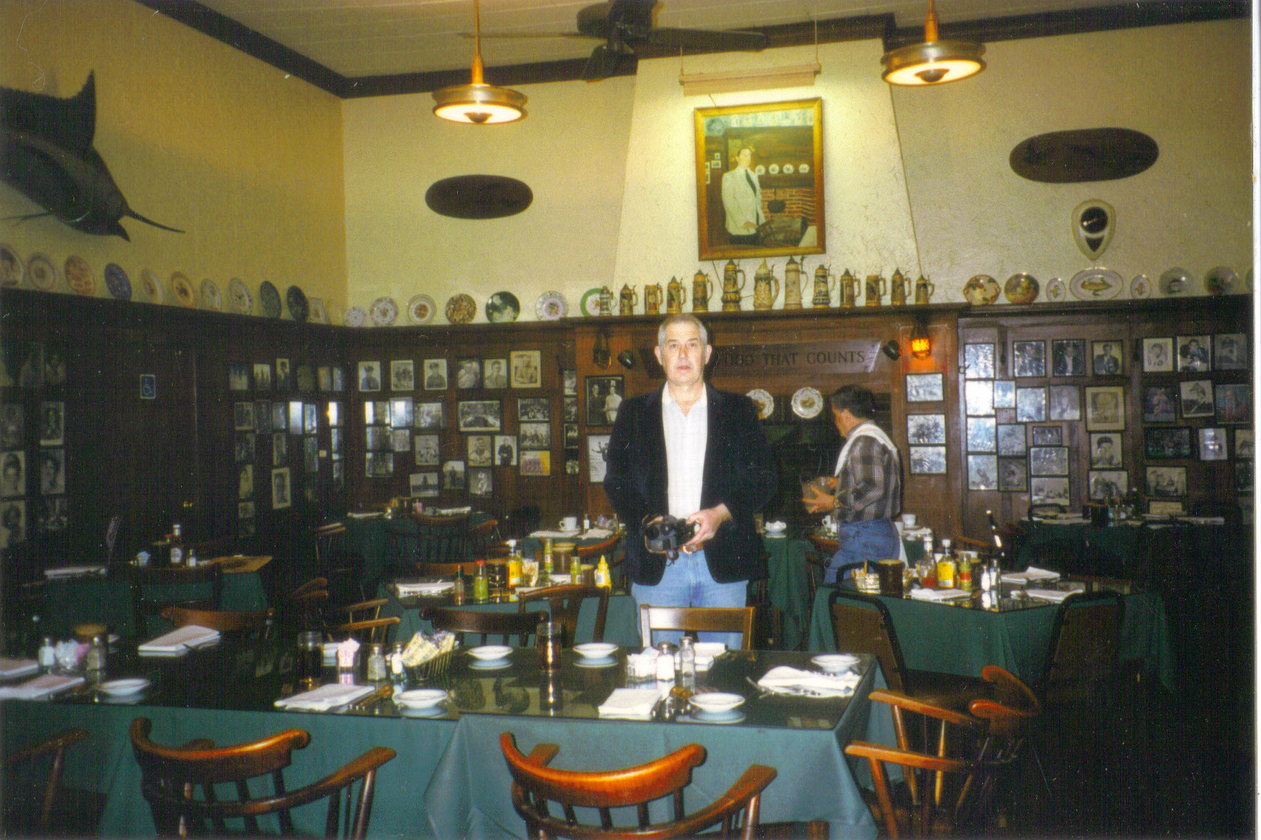 Inside Weidmann's - March 1996 - Thanks to Joe B. Stewart!