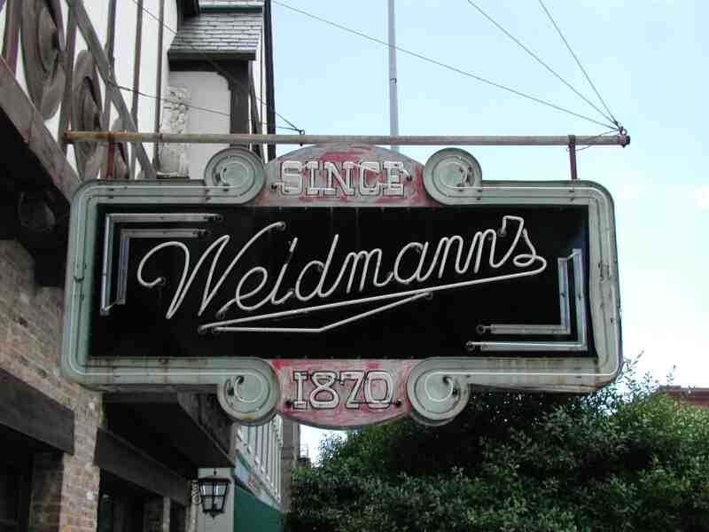 Old Weidmann's Sign